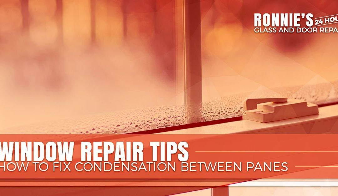 Window Repair Tips — How to Fix Condensation Between Panes