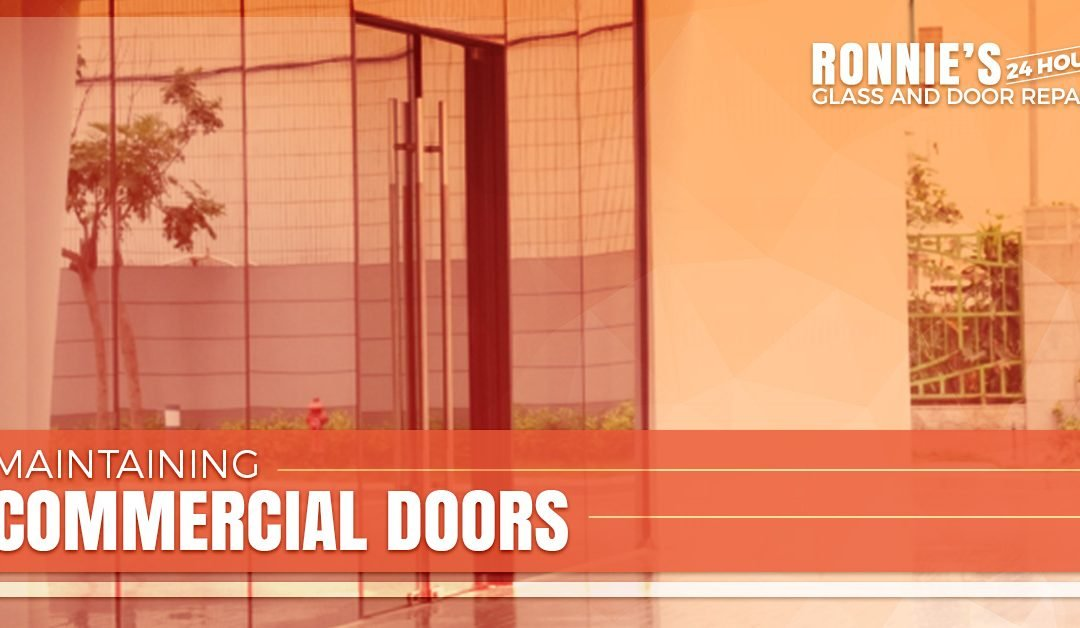 Maintaining Commercial Doors